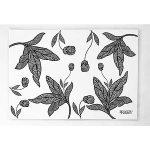 KALAM LEAF DESIGN TABLE MAT