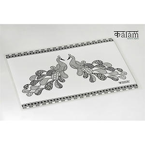KALAM PEACOCK TABLE MAT