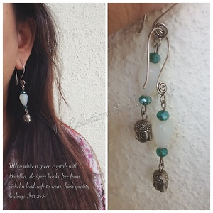 Handcrafted handmade beaded and germansilver jewelry