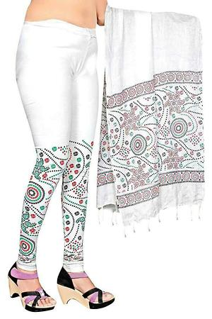 legging with stole