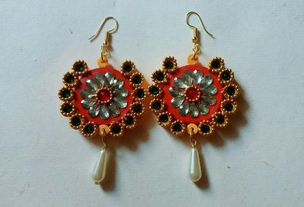 quilling earing