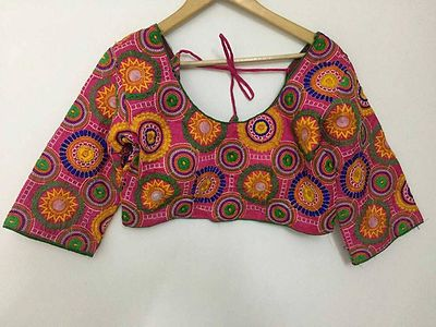embroidered stitched blouse