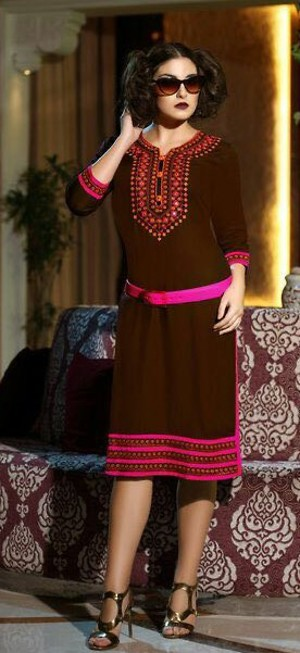 Heavy Reyon With Stuning Embroidery work