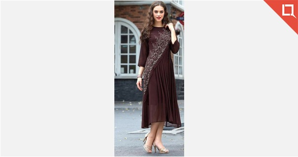 Brown stunning and trendy top