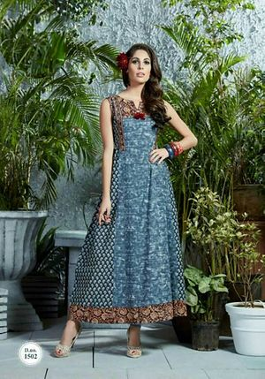 only for Quality lovers Designer Long Flared