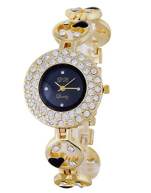Stylish Golden Watches For Women
