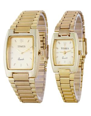 Golden Couple Watches