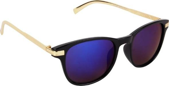 Brover Blue and gold Sunglasses
