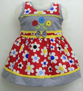 Cute cotton printed frocks