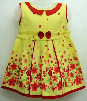 Cute cotton printed frock