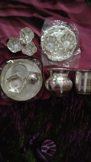 Silver coated gift articles