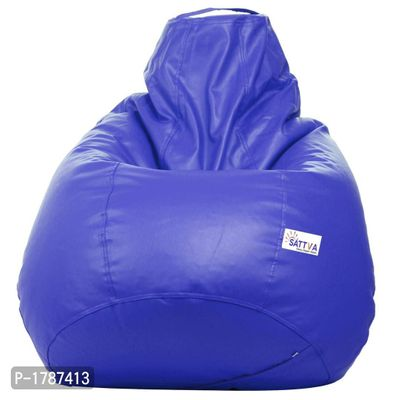 Classic XXL Bean Bag Cover  (without Beans) -Royal Blue