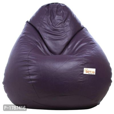 Classic XXL Bean Bag Cover (without Beans) -Purple