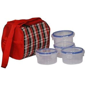 Check 4 lock lock container lunch box