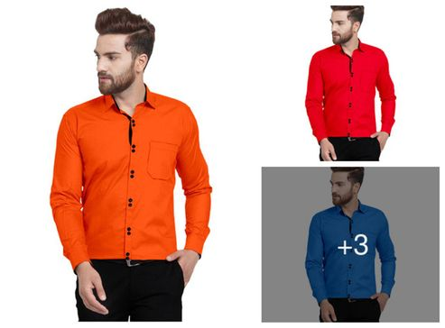 cotton-double-button-plain-casual-shirts-for-men