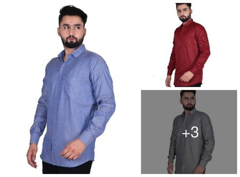 pure-cotton-solid-casual-shirts-for-men