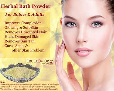 Herbal Bath Powder for Babies & Women