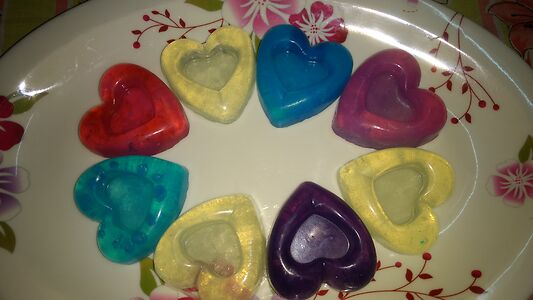 Organic handcrafted glycerine soaps