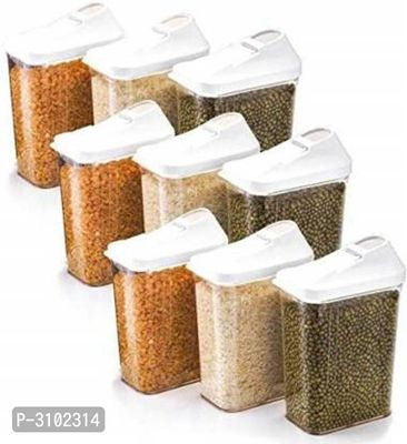 Essential Plastic  Easy Flow Containers(Pack Of 6)