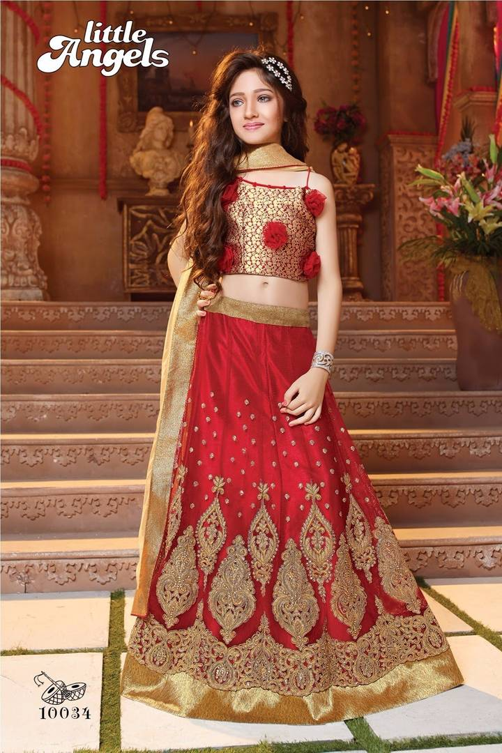 TRADITIONAL DRESS FOR KIDS Marriage & Traditional Wear - Indu ...