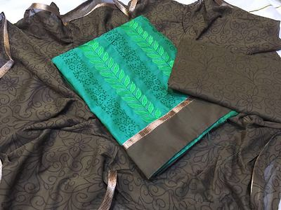 Sarees and Dress material s