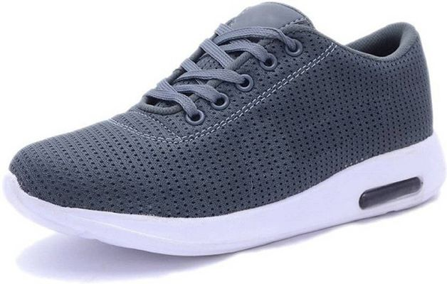 Casual Canvas Running Capsul Shoes Grey