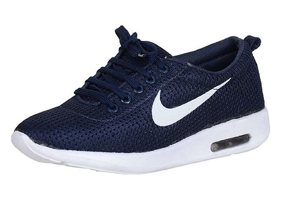 Casual Canvas Running Capsul Shoes Navy Blue