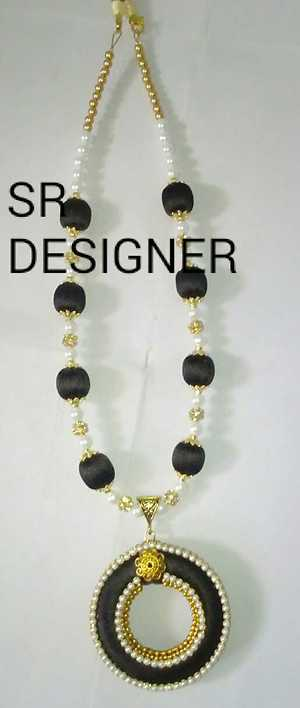 New collection of Christmas sale silkthread jewellery sets