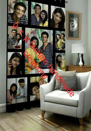 Personalised photo curtains
