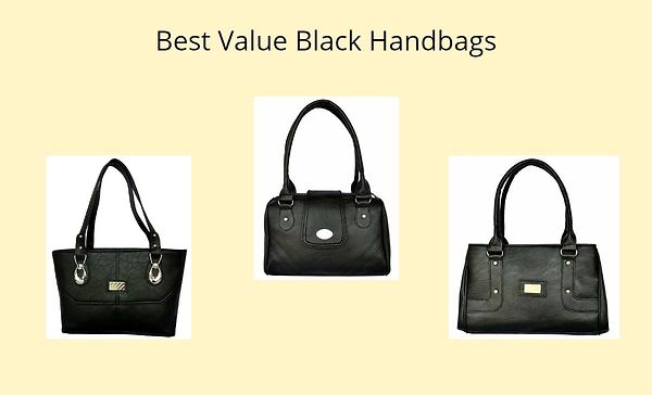 Best Value Black Handbags