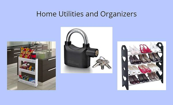 Home Utilities and Organizers