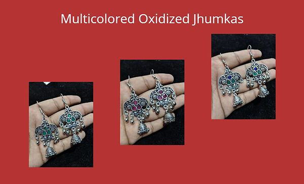 multicolored-oxidized-jhumkas