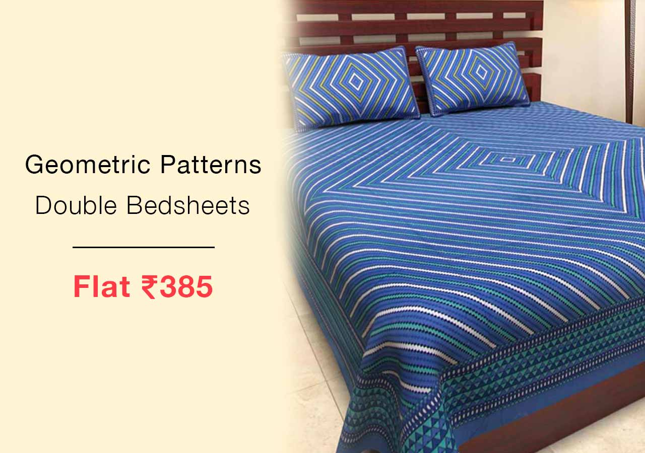 geometric-patterns-double-bedsheets