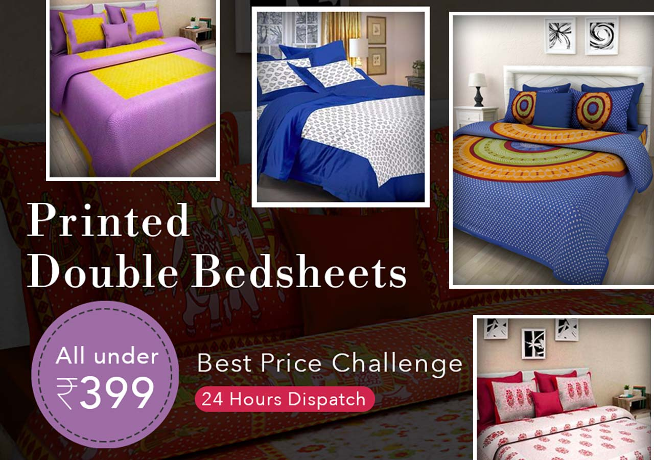 printed-cotton-double-bedsheets-under-399