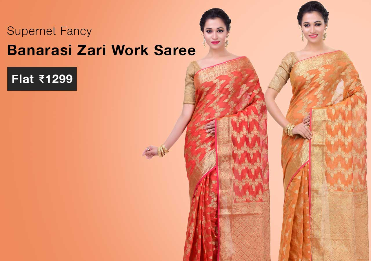 supernet-fancy-banarasi-zari-work-saree