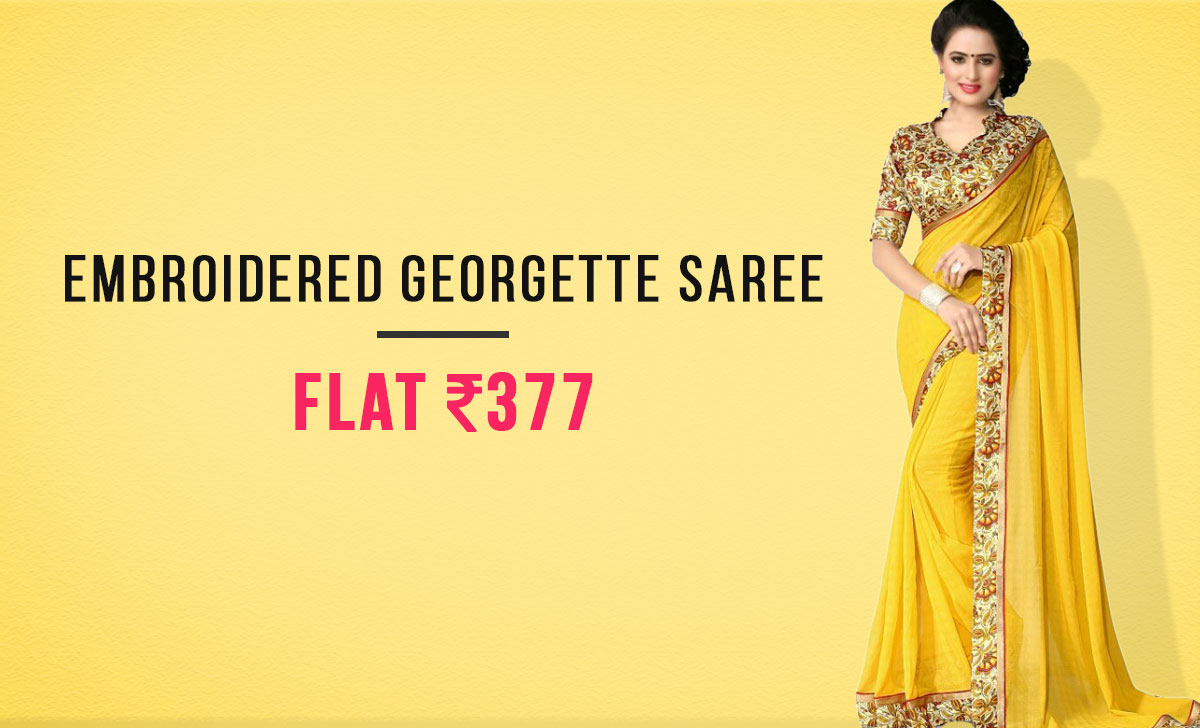 embroidered-georgette-sarees