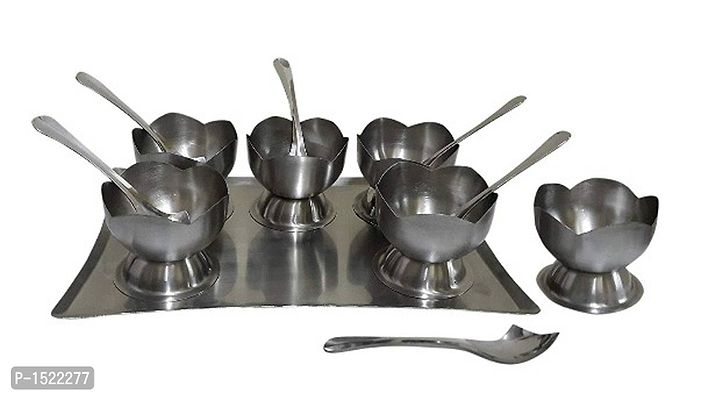 Stainless Steel Dessert Combo Gifting Set, 13-Pieces, Silver