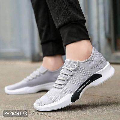Light Material Grey Sneaker Sports Shoes