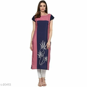 Fabric: Crepe  Sleeve: Sleeves Are included   Type: Stitched  Work: Printed