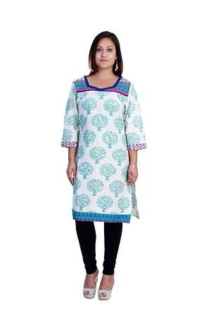 woman cotton kurti