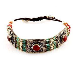 Tribal Tibetan handmade bracelet