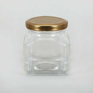 Xclusives Clear Glass Jam Jar(Set of two) USX10004