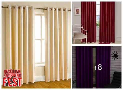 solid-colored-polyester-door-curtains