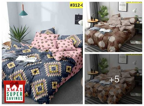 multicolored-glace-cotton-double-bed-sheet