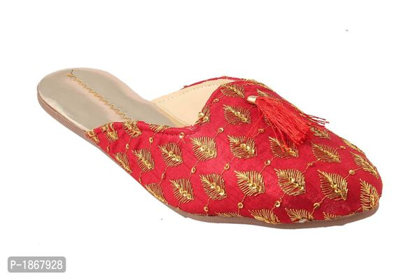 Red Mules For Womens