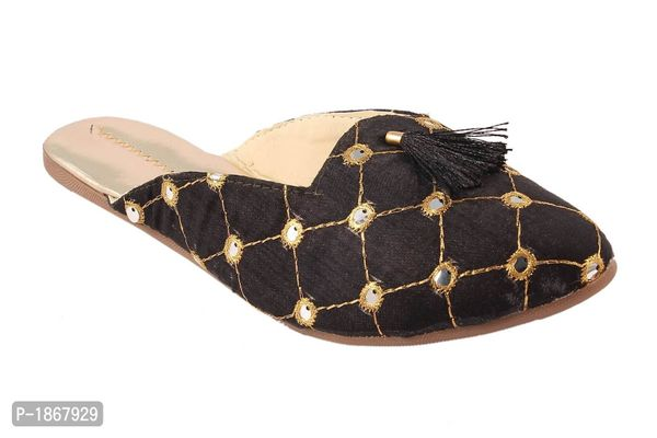 Black Mules For Womens