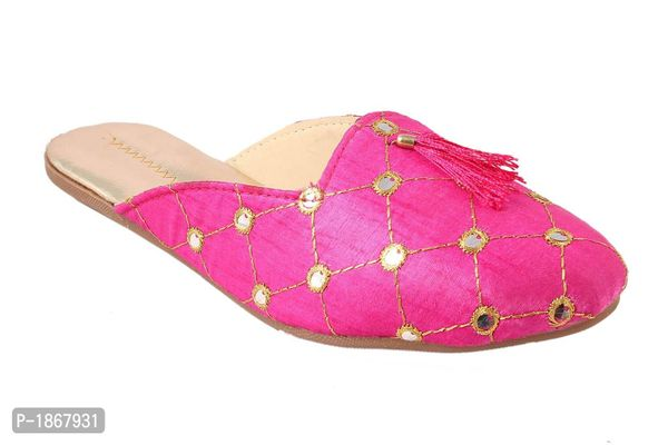 Pink Mules For Womens