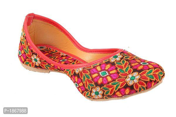 Multicoloured Mojaris For Womens