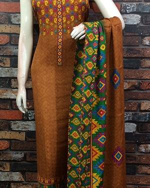 Digital Print//Pashmina Fabric Suit//Bulk orders are accepted