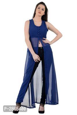 Royal Blue Padded Long Dress